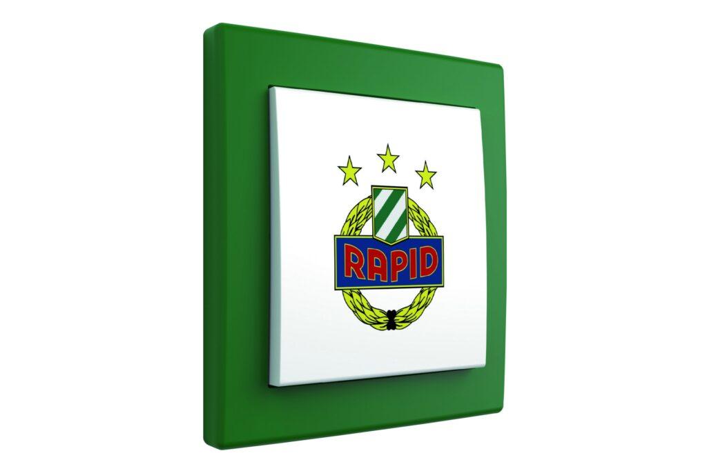 SK Rapid Wien Fan-Lichtschalter: ein Volltreffer von Hager | i-Magazin