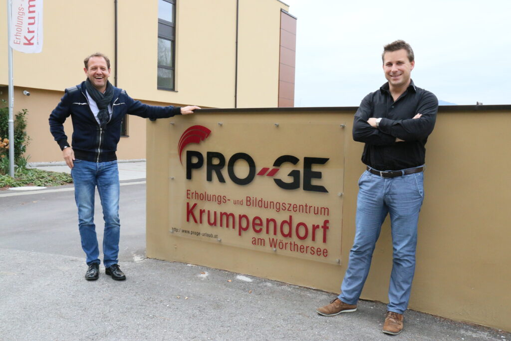 Hannes Hettegger und Marc Hofer (iRoom)