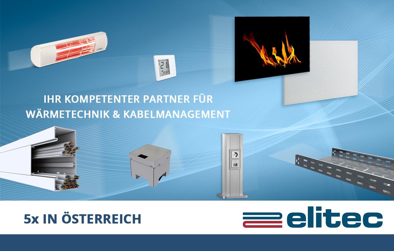 elitec - Ihr Kompetenter Partner für Wäremtechnik & Kabelmanagement Bild: elitec