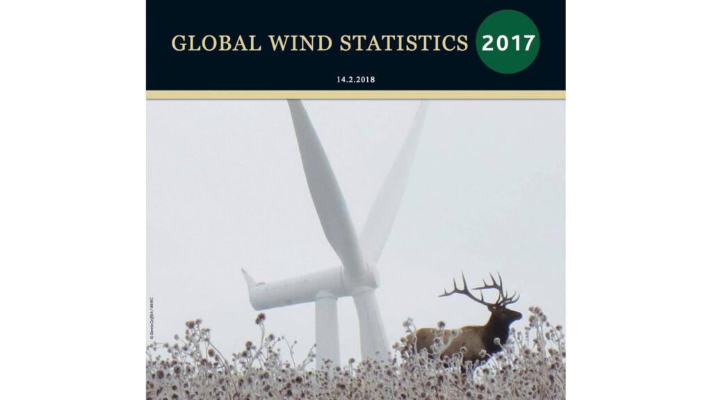GWEC Global Wind Statistics 2017