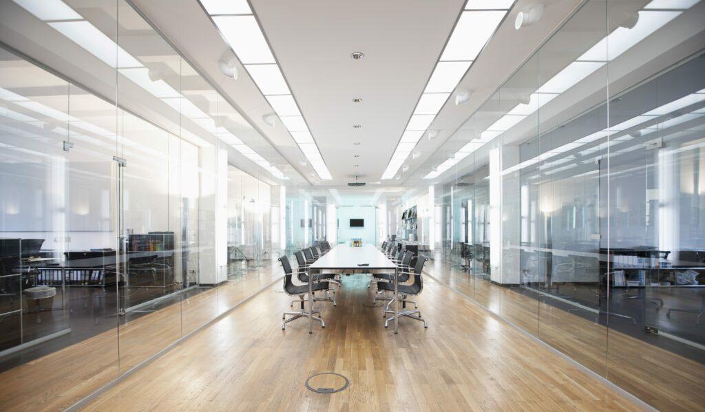 Beleuchtungsanlage für Büros