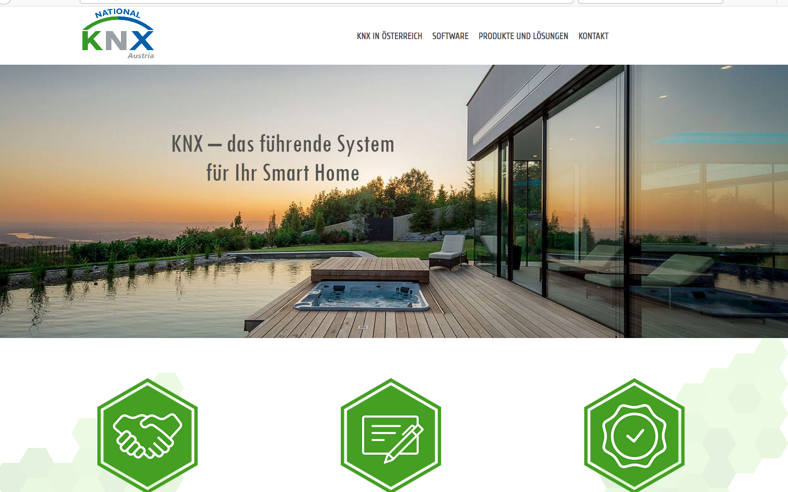 knx austria mit neuem webseitenauftritt i magazin. Black Bedroom Furniture Sets. Home Design Ideas