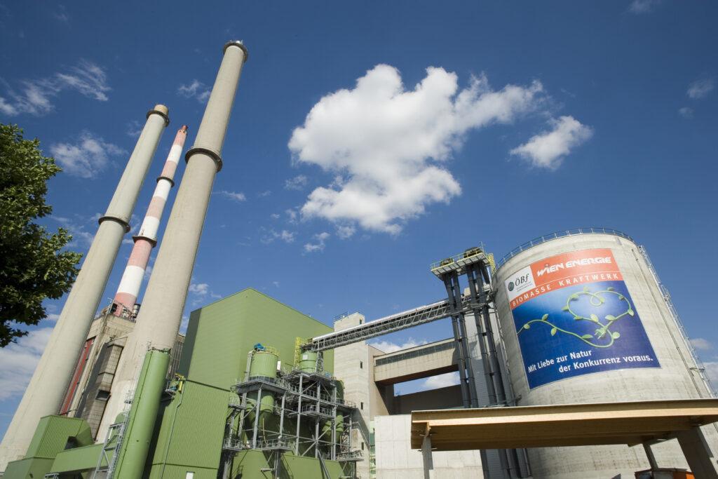 Wald-Biomassekraftwerk Wien-Simmering