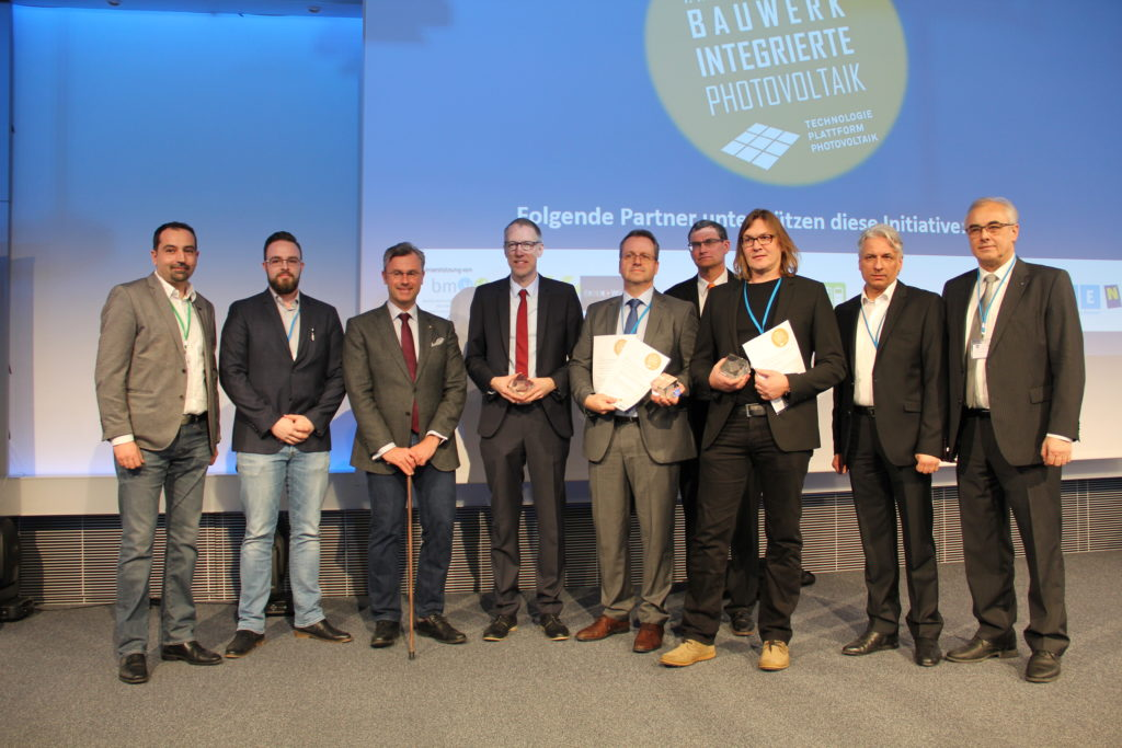»Innovationsaward für Bauwerkintegrierte Photovoltaik«