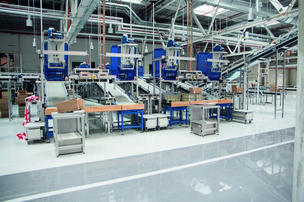 Neues Gira Produktions-, Logistik- und Entwicklungszentrum