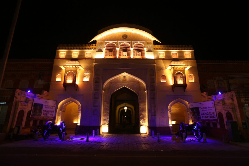 Osram beleuchtet Jaipur