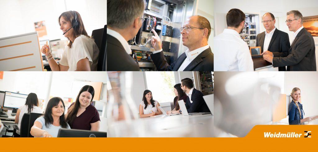 Weidmüller Österreich spiegelt Customer Service, technisches Know-How und Beratung, kundenorientiertes Backoffice und offene Unternehmenskultur wieder – aber Bilder sprechen mehr als tausend Worte, sehen Sie selbst: (Bild: Weidmüller)