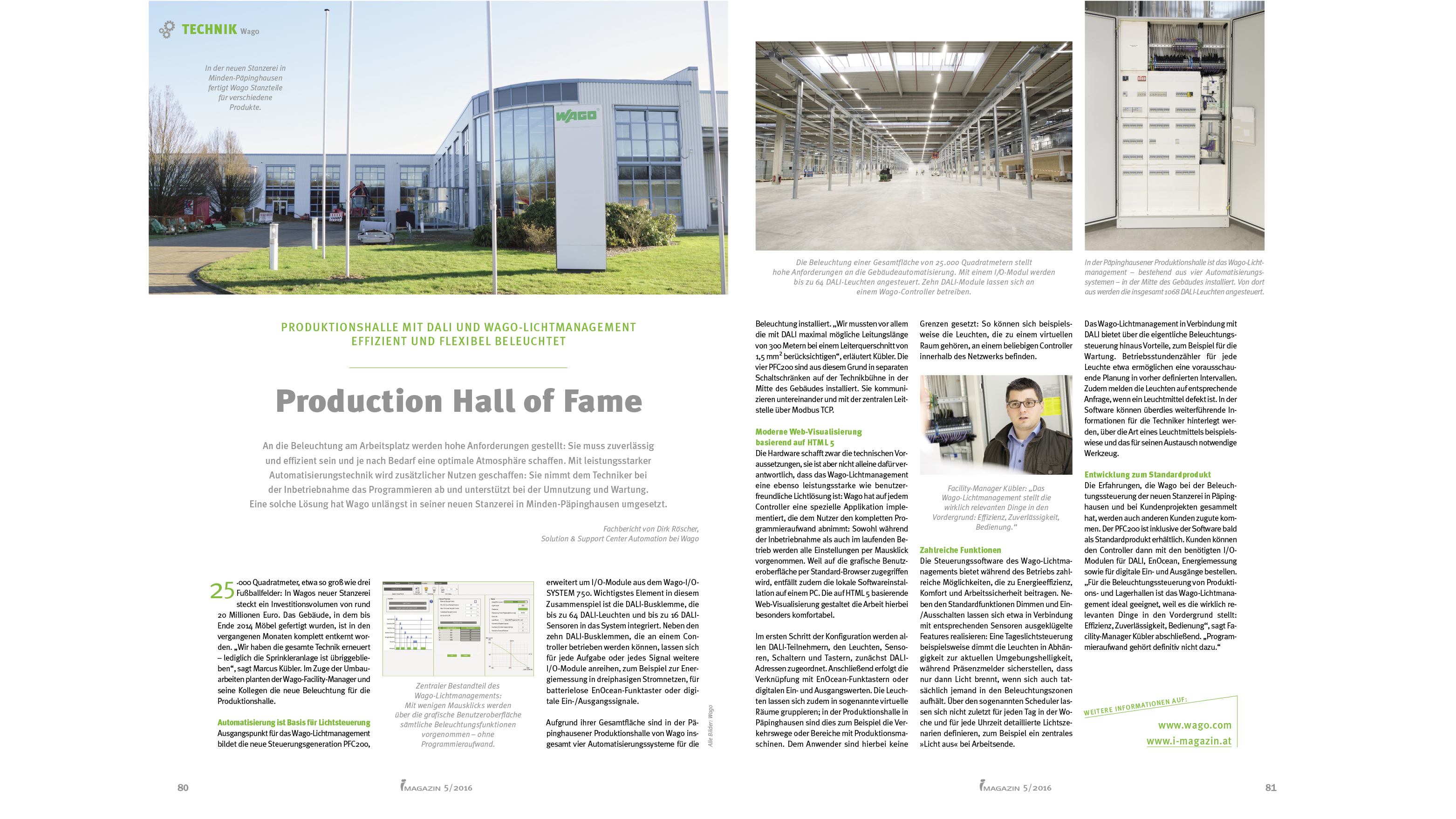 Dali Beleuchtung | Production Hall Of Fame I Magazin