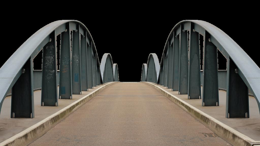 Stahlbrücke – Die Stahlindustrie befindet sich im Wandel.