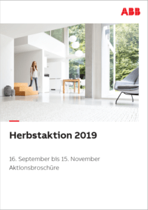 Cover der ABB Herbstaktion
