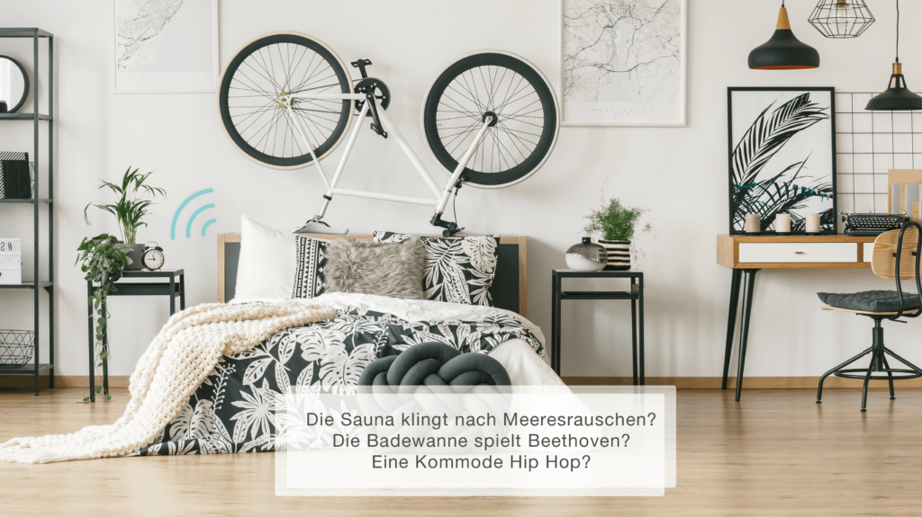 Schlafzimmer, Soundsystem von WHD