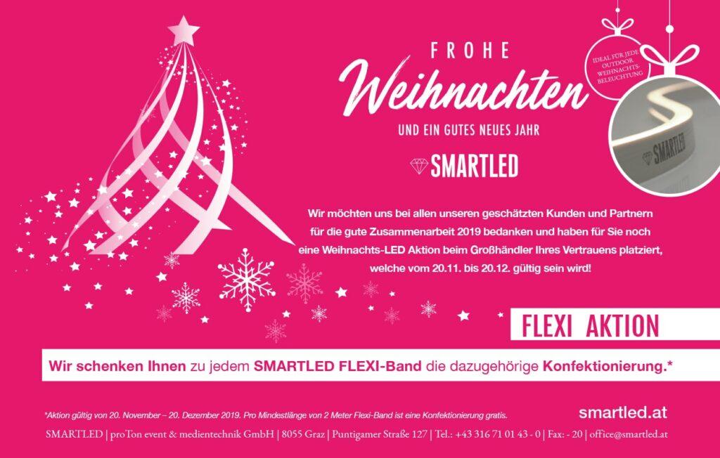 Smartled wünscht frohe Weihnachten