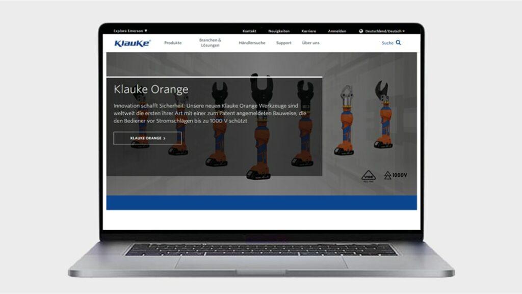 Klauke Website
