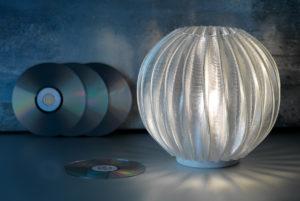 Maßgeschneiderte 3D-gedruckte Leuchten von Signify.