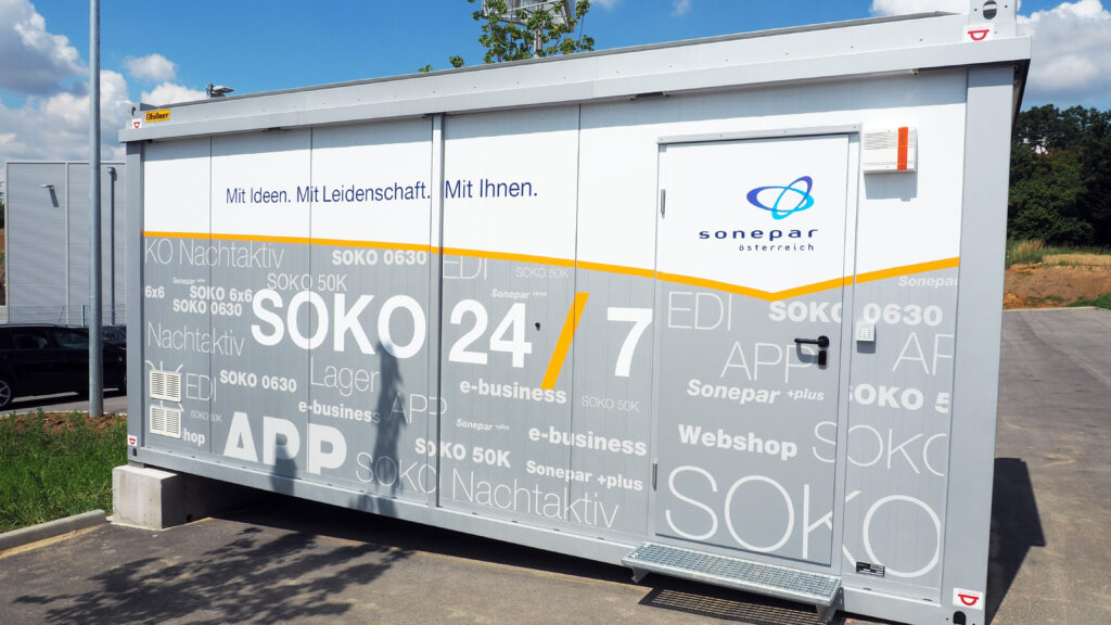 SOKO 24/7 Container