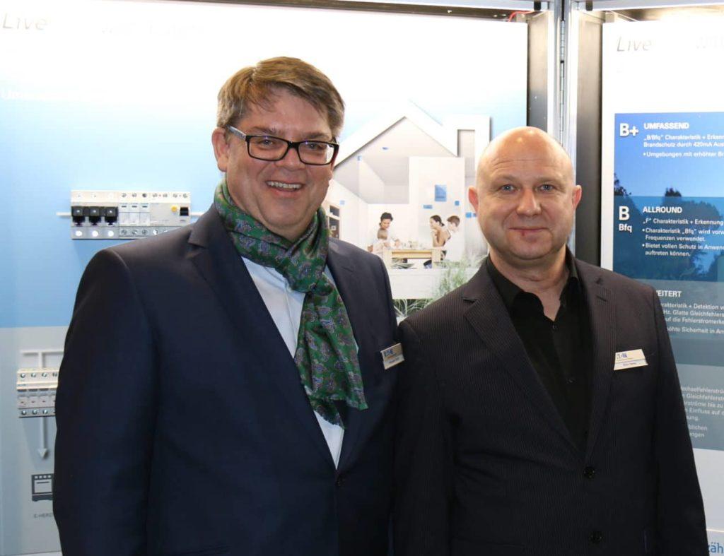 Alexander Ströbl und Björn Hanke