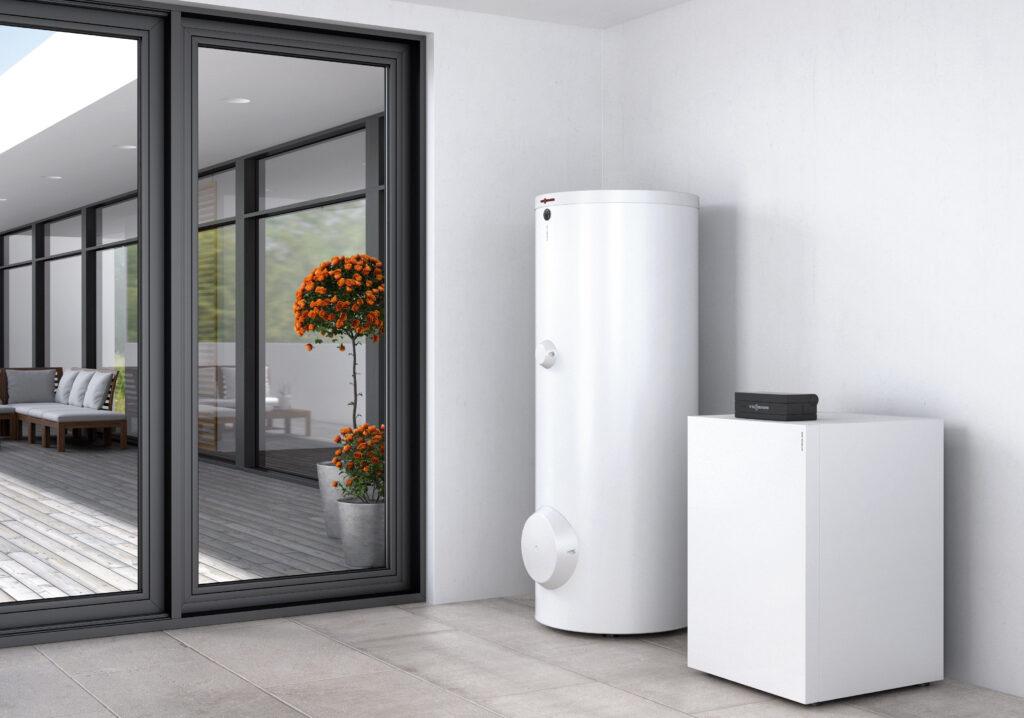 Wärmepumpe Vitocal 300-G in einer Wohnung