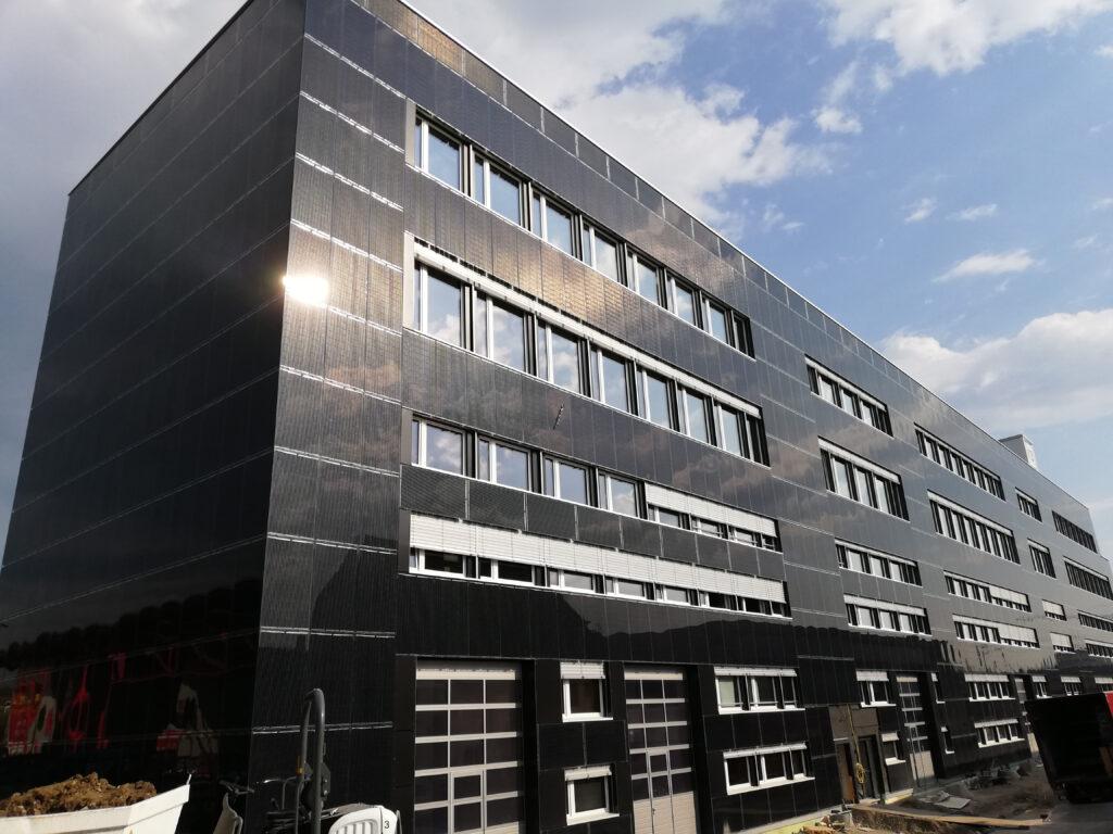 K3 Handwerkcity mit Photovoltaikfassade