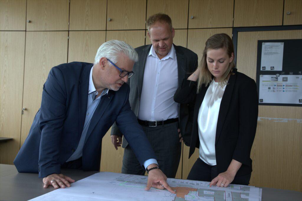 Thomas Schmiedinger, Andreas Malits und Nina Ackerl (v.l.)