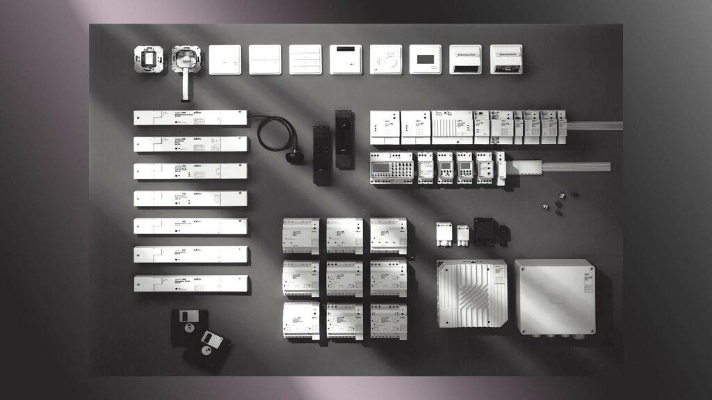 Bestandteile des KNX-Systems von Gira