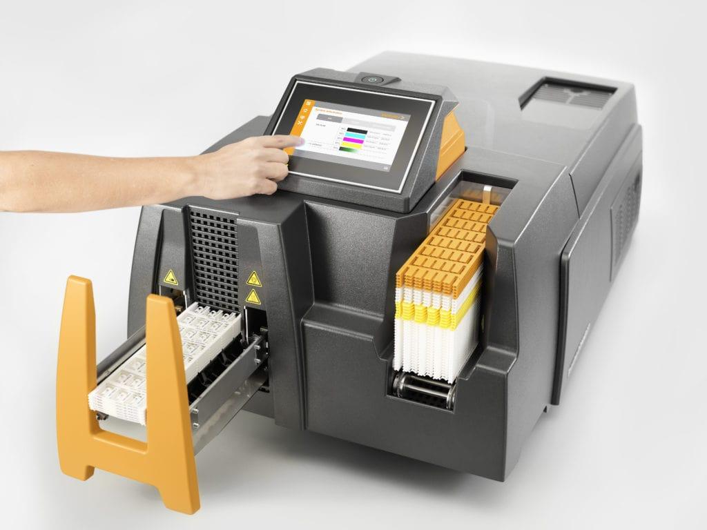 Hand bedient PrintJet Connect Drucker