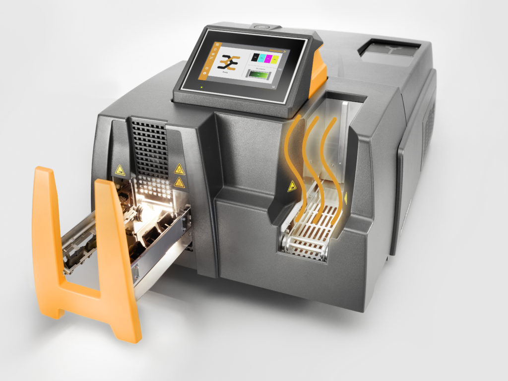 PrintJet Connect Drucker beim Vorheizen