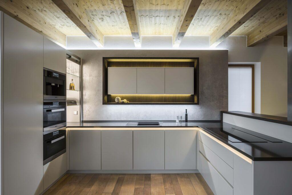 Küche mit Brumbergs QualityFlex