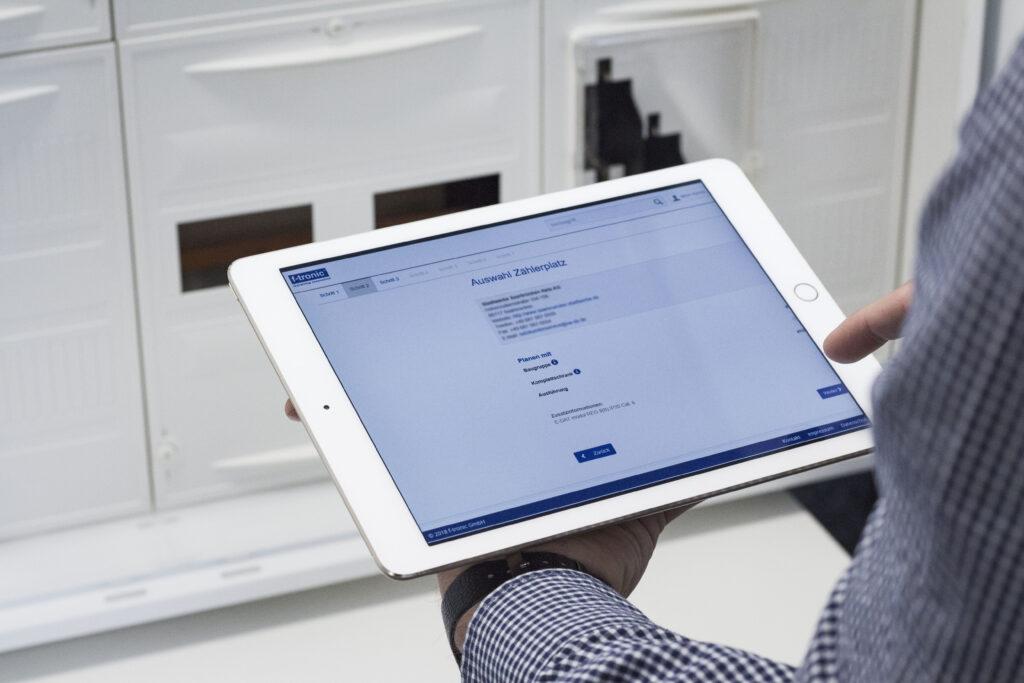 Zählerschrank-Konfigurator für digitalisierte Kundenprozesse
