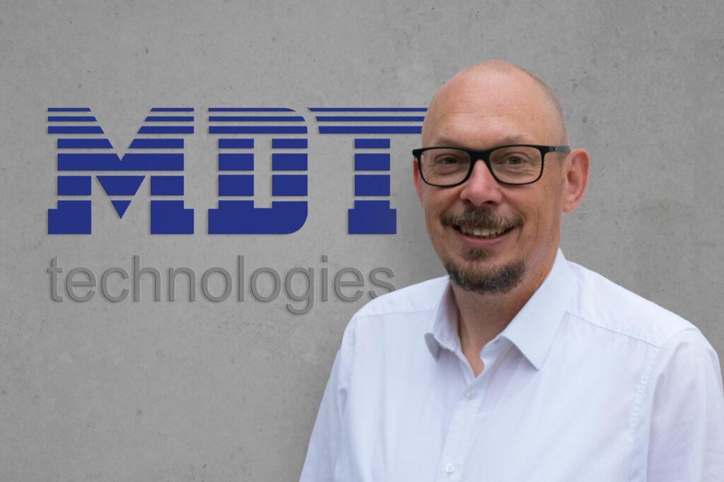 Neu bei MDT: Marcel Gramann