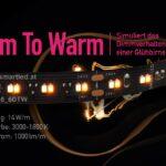 Dim-To-Warm Stripe